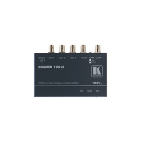 123Vxl - Composite Video Differential Line Amplifier